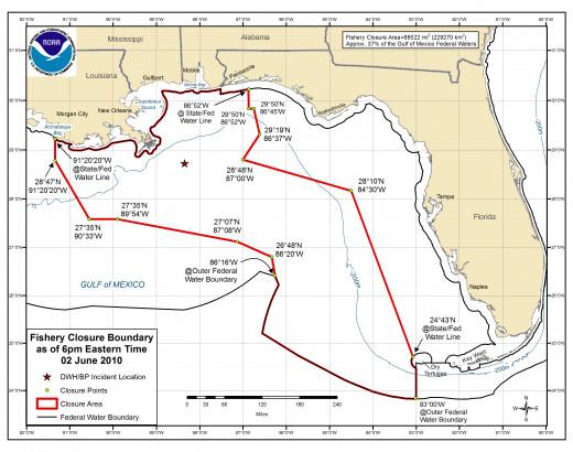 Deepwater Horizon Fishing closure