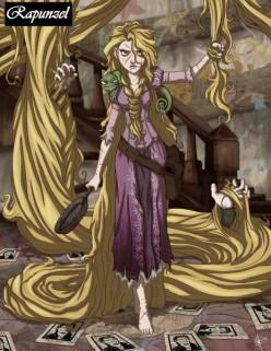 """A Dark Faery Tale"" #8: Rapunzel"