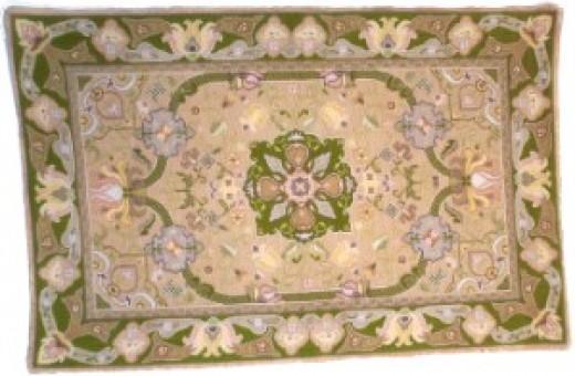 Replica of an antique Arraiolo Carpet