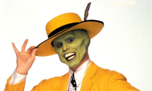 Jim Carrey Stars in The Mask