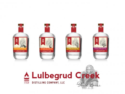 The proposed product line of Lulbegrud Creek Distilling Company, LLC™. Yummy!