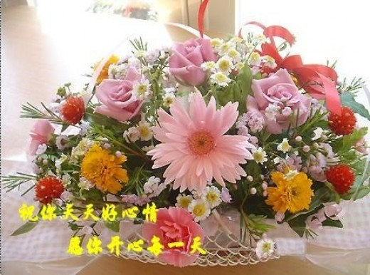 Wish you in good mood every day.! Wish you happy every day!