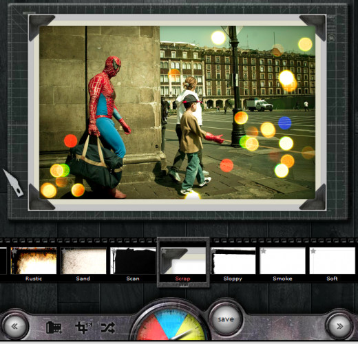 Screen Capture: Pixlr-o-matic (Playful)