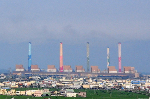 Coal Fired Power Plant in Taiwan