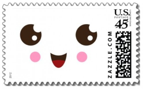 Cute Postage Stamp