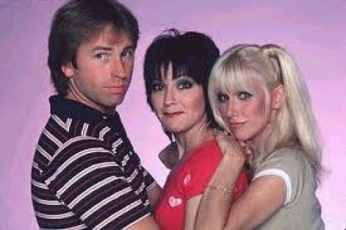 Jack, Janet and Chrissy are the original cast although Chrissy eventually left and was replaced with Cindy and Terri.