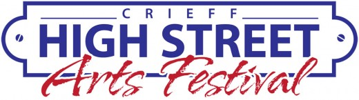 Crieff High Street Arts Festival logo