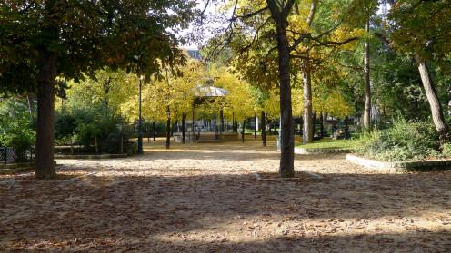 Square des Epinettes, Paris XVII