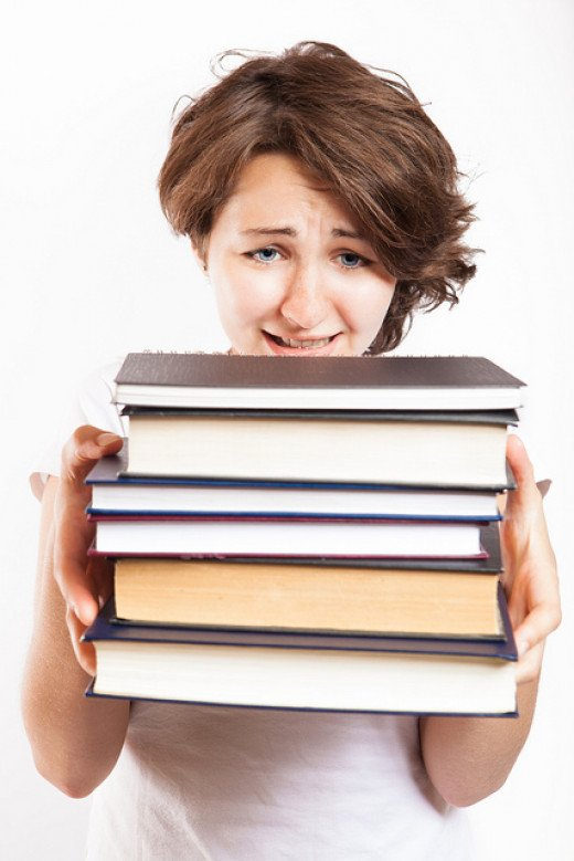 Be prepared to read a lot in order to do well in a literature class.