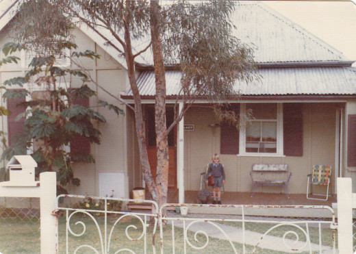Our home for forty-six years minus the six years or so we were away in country NSW or overseas.