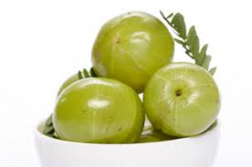 Amla- Indian Gooseberry work really well for hair problems.