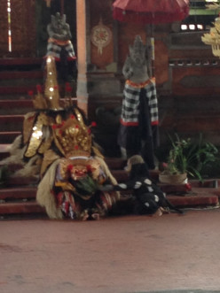 Barong & Kris Dance in Bali Indonesia, A famous play not to be missed