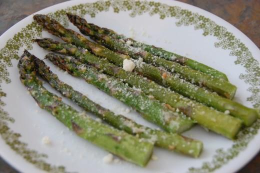 Asparagus ready to enjoy!