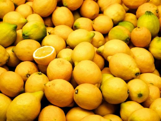Lemons.. Lemons everywhere