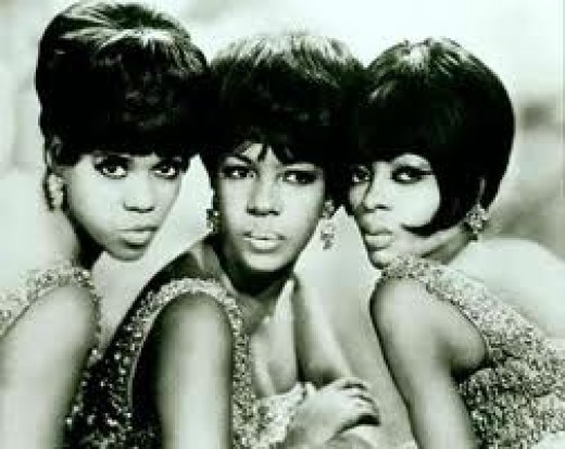 The Supremes began in Detroit, Michigan and they were led by Diana Ross.