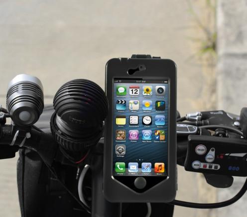 iPhone 5 bike mount