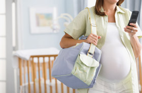 Pack your hospital bag before moving to  nursing home for delivery