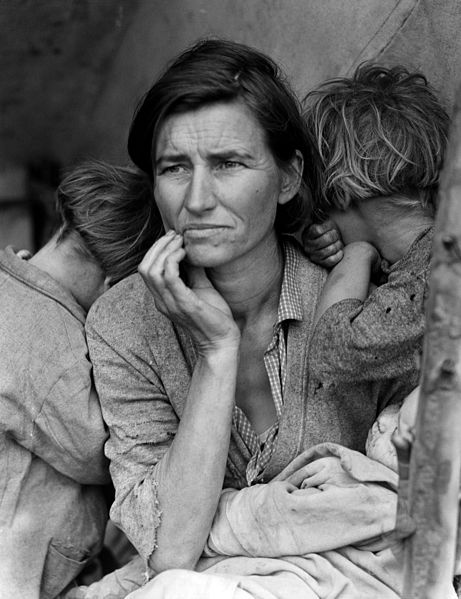 The Great Depression of the 1930s affected a huge portion of people in rich capitalist countries such as the US and Western Europe..