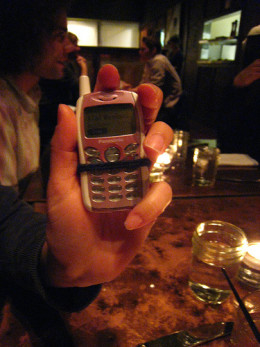 Phone in a restaurant by star5112 on Flickr