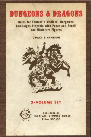 the original Dungeons and Dragons set.