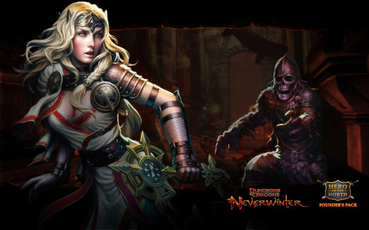 wallpaper for the new Neverwinter MMORPG
