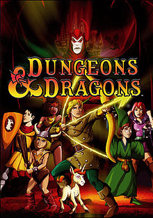 cover art of the Dungeons and Dragons DVD