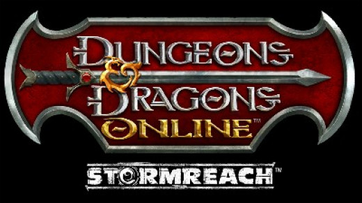 The original Dungeons and Dragons Online logo