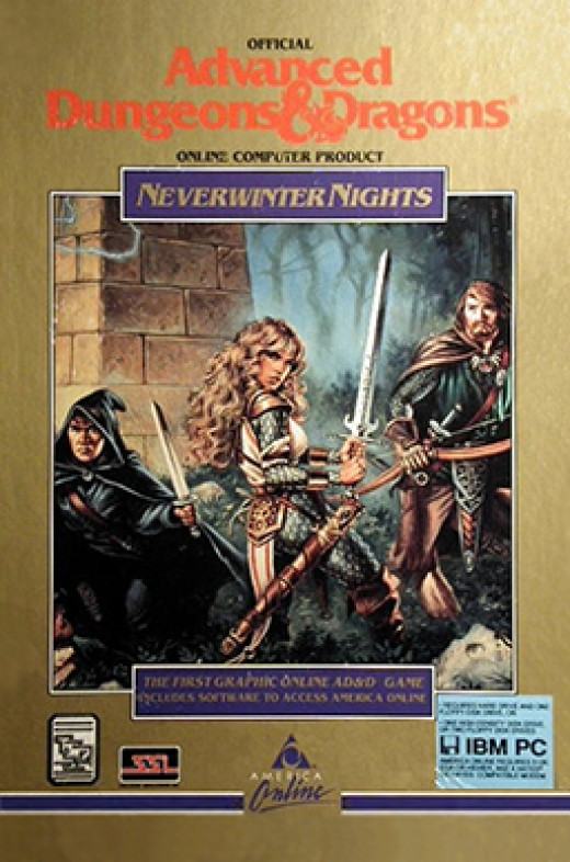Box art from Neverwinter Nights (1991)