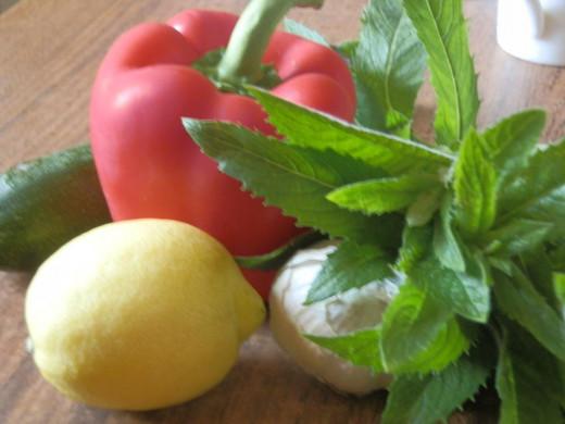 vegetables for Lemon Pork Chop recipe