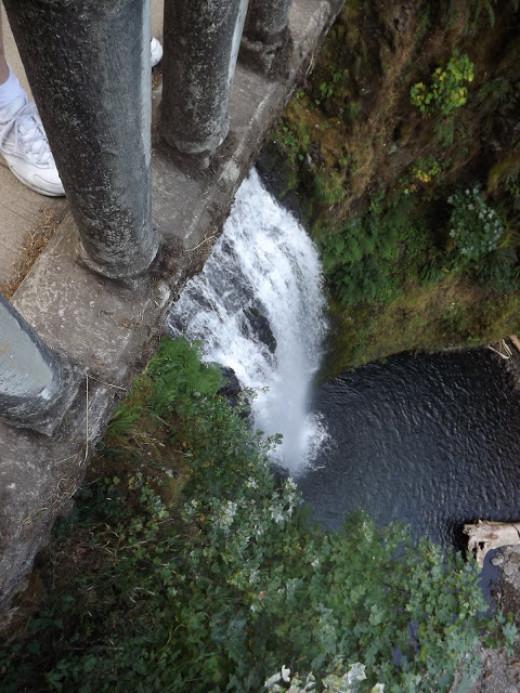 Perspective from Benson Bridge