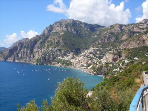 our road trip around the Amalfi Coast, Italy required regular sunscreen with strong sun, salt water and reflections of sun while driving.