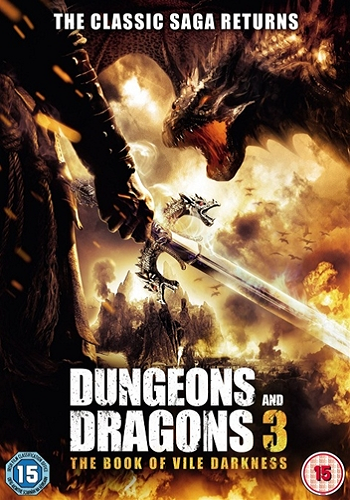 movie poster for Dungeons and Dragons 3