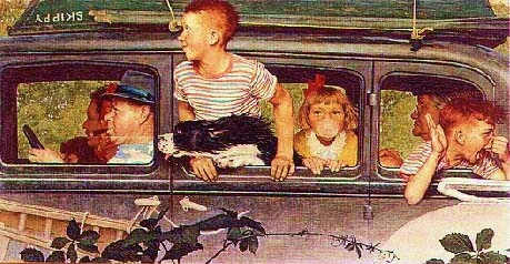 Summer Vacation by Norman Rockwell