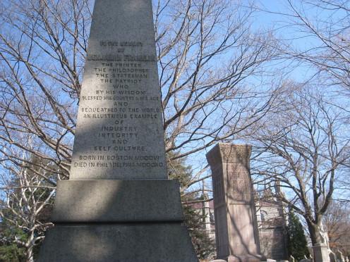 Benjamin Franklin Cenotaph