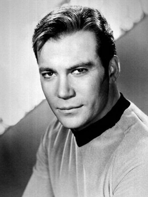 Captain of the Starship Enterprise played by William Shatner