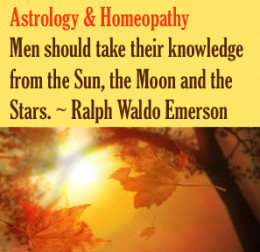 Men should take their knowledge from the Sun, Moon and the Stars. Ralph Waldo Emerson