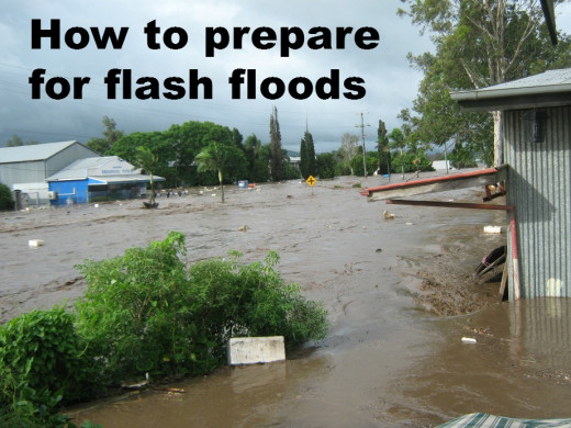How to prepare yourself and your family for the risk of flash flooding.