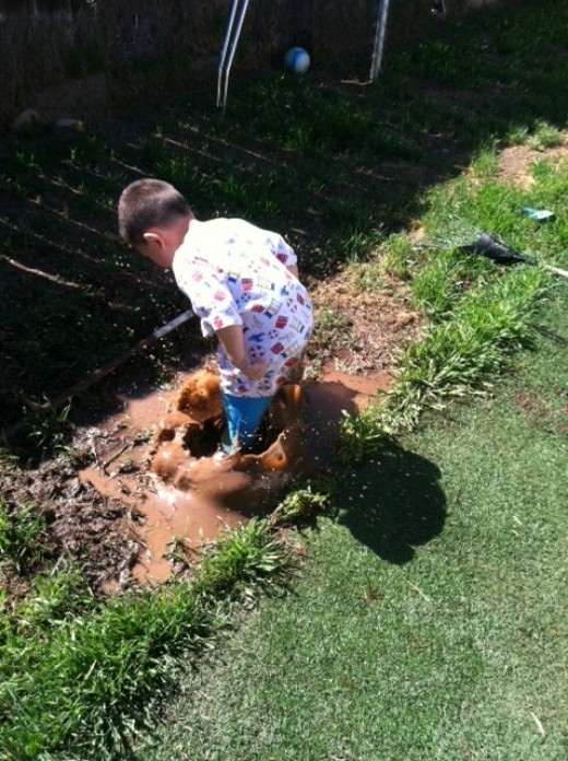 If you never jumped in puddles as a child. Do your friends and family a favor. Do it as an adult, it is a game changer.