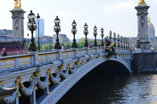 The Famous Bridge on Champs Elysees from Tony DeLorger