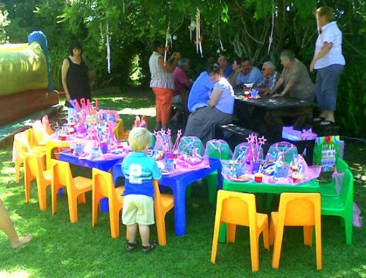 Venue with a Garden Space is Crucial for Tea Party Themed Birthday