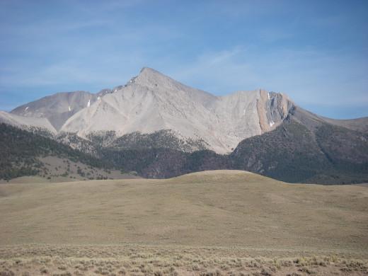 Mount Borah, Idaho.