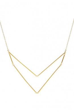Greer V-neck Layer Necklace