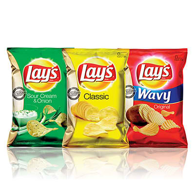 A popular brand in the potato chips market, offering chips with many different flavors and textures.