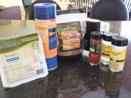 Gathering the ingredients