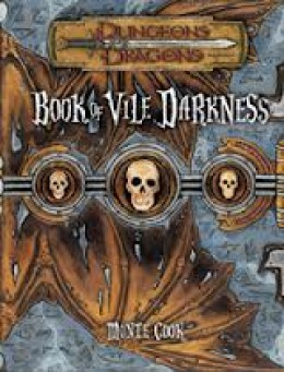 Cover of the Book of Vile Darkness.
