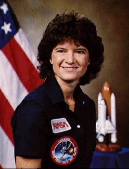 Sally Ride - 2nd and 3rd shuttle missions, the 7th (Challenger) and investigated the later accident.
