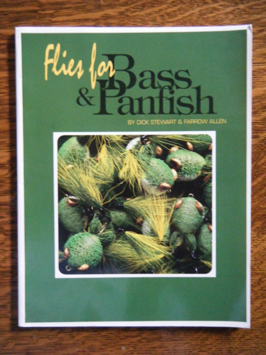 """Flies for Bass and Panfish"" by Dick Stewart and Farrow Allen  Copyright 1992.  Published by Northern Press, Inc."
