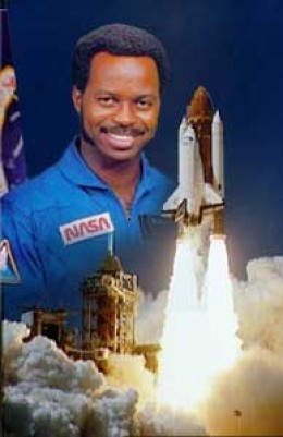 Dr. Ronald McNair. Challenger.