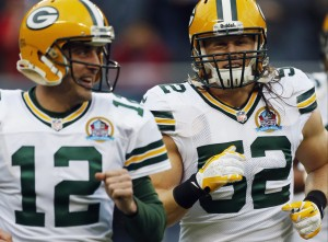 The two highest-paid players at their positions, Rodgers and linebacker Clay Matthews will lead the Packers to victory from both sides of the turf.