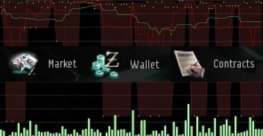 Playing the market in EVE Online involves many different aspects of the game.